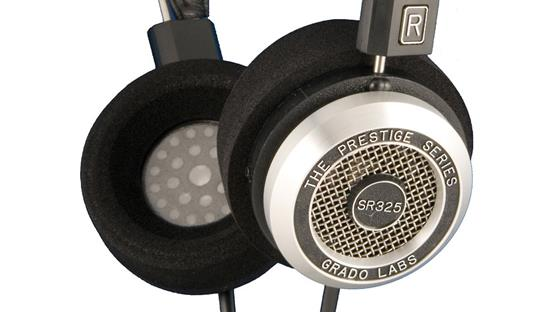 Grado L-cushion Cushions shown on headphones (not included)