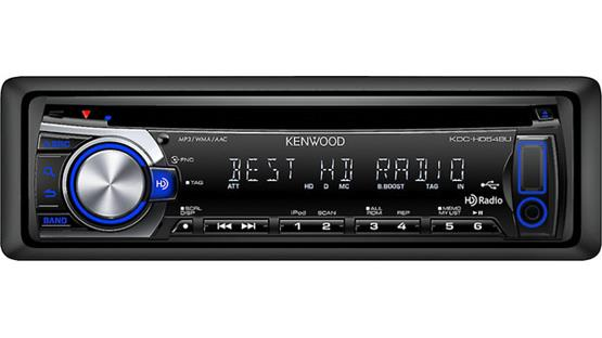 Kenwood KDC-HD548U Front