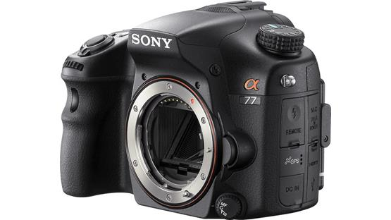 Sony Alpha SLT-A77V (no lens included) Front