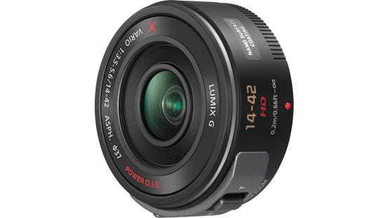 Panasonic H-PS14042K f/3.5-5.6 14-42mm Power Lens Front