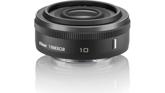 Nikon 10mm f/2.8 1 Nikkor Front (black)