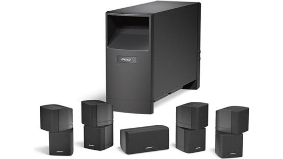 Bose® Acoustimass® 10 Series IV home entertainment speaker system Front