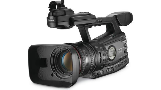 Canon XF305 High Definition Camcorder Front