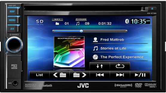 JVC KW-NT300 Front