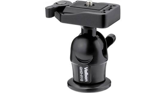 Velbon QHD-51Q Ball Head Front