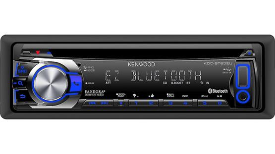 Kenwood KDC-BT652U Front