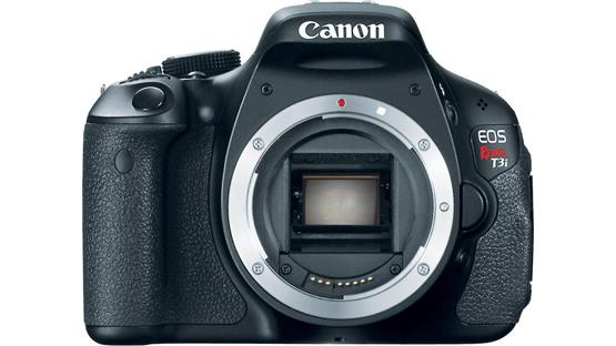 Canon EOS Rebel T3i (no lens included) Front