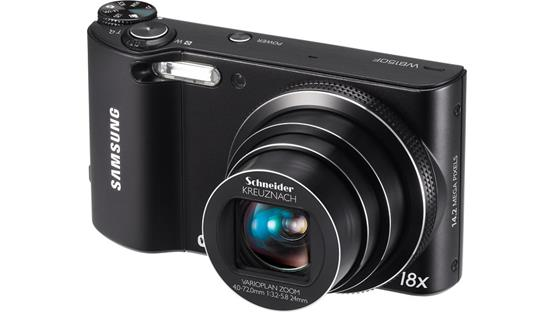 Samsung WB150F Front (Black)