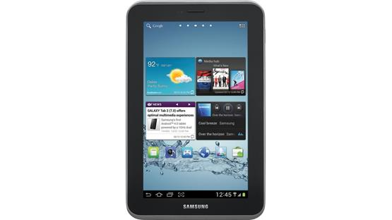 Samsung Galaxy Tab 2 Front view