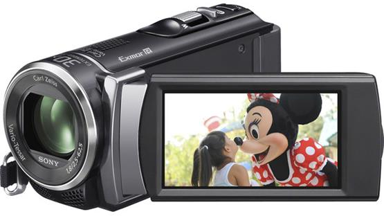 Sony Handycam® HDR-CX200 Front