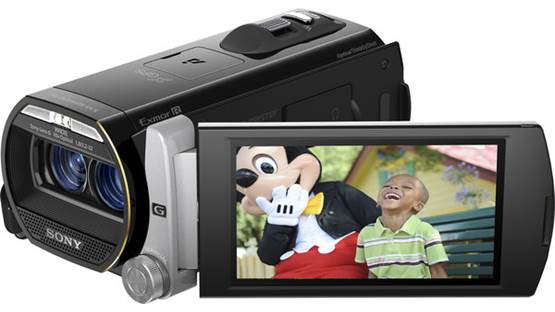 Sony Handycam® HDR-TD20V Front