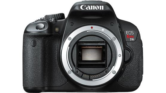 Canon EOS Rebel T4i (no lens included) Front