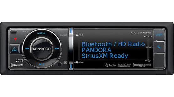 Kenwood KDC-BT952HD Front