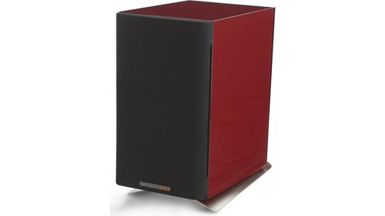 Paradigm SHIFT™ A2 Vermillion Red Gloss (pictured with optional Paradigm speaker stand)