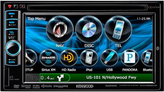 Kenwood Excelon DNX6990HD Front