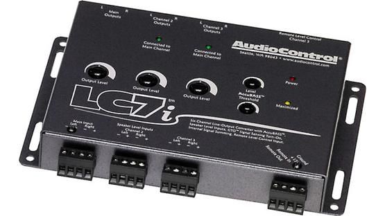 AudioControl LC7i Salmon Gray