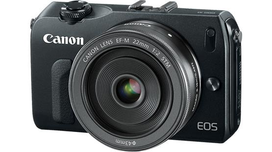 Canon EOS M Front
