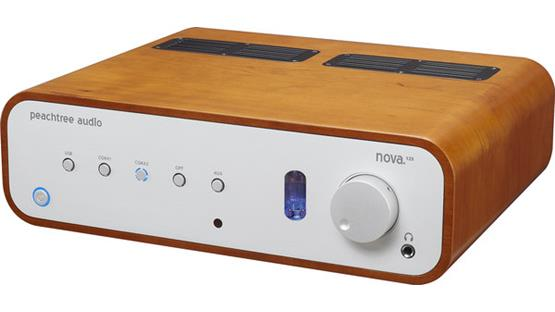 Peachtree Audio nova125 Front (Cherry)