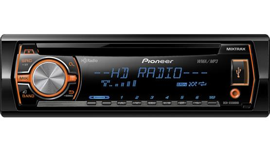 Pioneer DEH-X5500HD Front