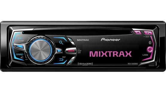 Pioneer DEH-X8500BS Front