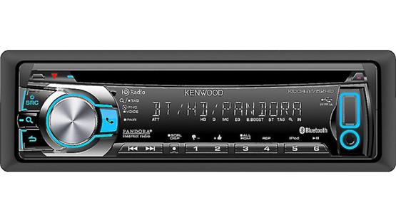 Kenwood KDC-BT752HD Front