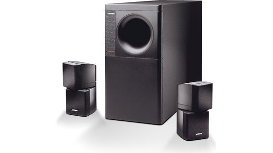 Bose® Acoustimass® 5 Series III speaker system Front
