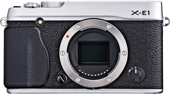 Fujifilm X-E1 (no lens included) Front (Black/Silver)