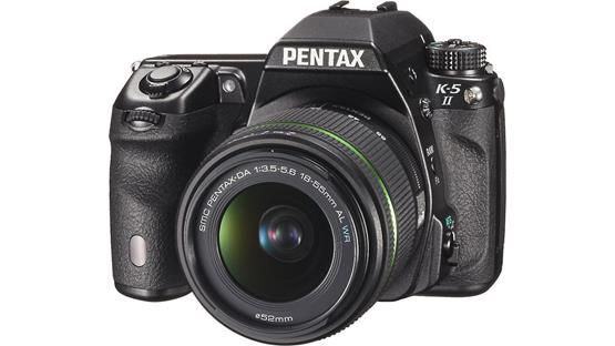 Pentax K-5 II with 18-55mm 3X Zoom Kit Lens Front