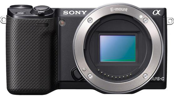 Sony Alpha NEX-5R (no lens included) Front