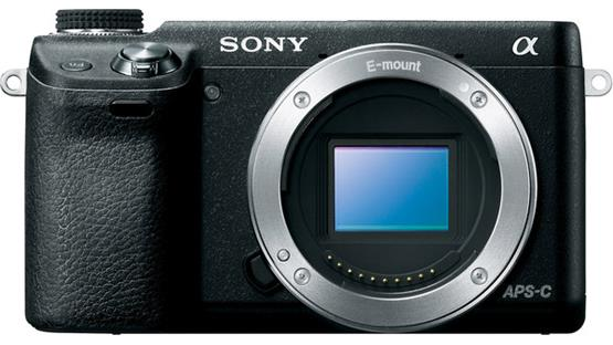 Sony Alpha NEX-6 (no lens included) Front