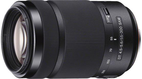 Sony SAL55300 55-300mm f/4.5-5.6 DT Front