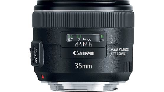 Canon EF 35mm f/2 IS USM Front