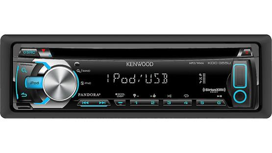 Kenwood KDC-355U Plenty of ways to enjoy your music