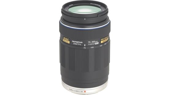 Olympus 75-300mm f/4.8-6.7 Front