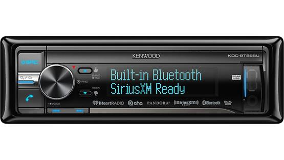 Kenwood KDC-BT855U Front