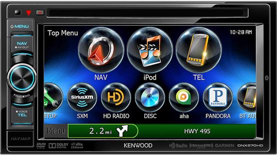 Kenwood DNX570HD Front