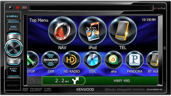 Kenwood Excelon DNX690HD Front