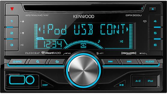 Kenwood DPX300U Front