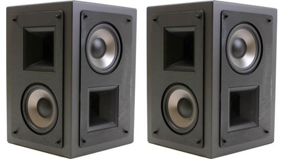 Klipsch KS-525-THX Shown with grilles removed