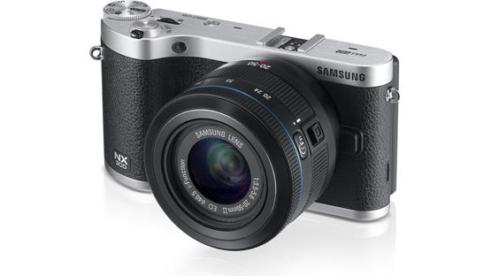 Samsung NX300 Front
