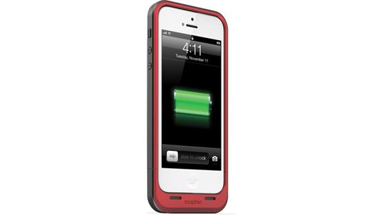 mophie juice pack air Red (iPhone 5 not included)