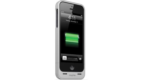 mophie juice pack helium™ Silver (iPhone 5 not included)