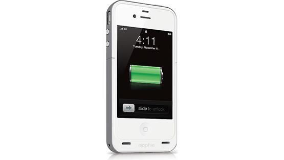 mophie juice pack plus® Grey (iPhone not included)