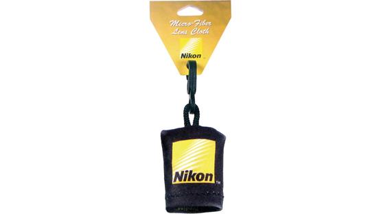 Nikon Micro Fiber Cleaning Cloth Front