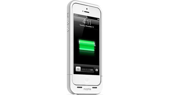 mophie juice pack plus® White (iPhone 5 not included)