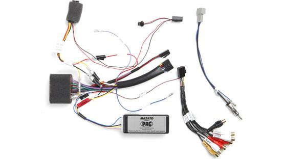 Rosen DP-MZBOSE1 Wiring Interface Front