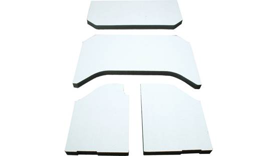 Boom Mat Sound Deadening Headliner Kit Boom Mat 4-piece kit (white)