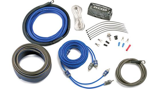 Kicker CK8 8-gauge complete wiring kit