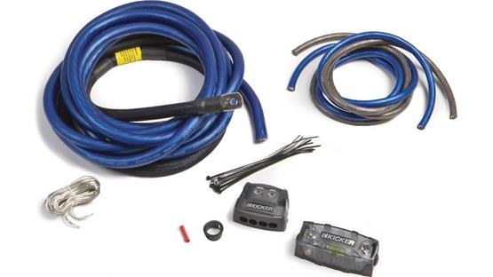 Kicker PKD1 1/0-gauge multi-amp power kit