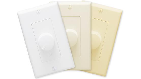 Russound ALTx-2D Includes White, Light Almond and Almond wall plates and knobs